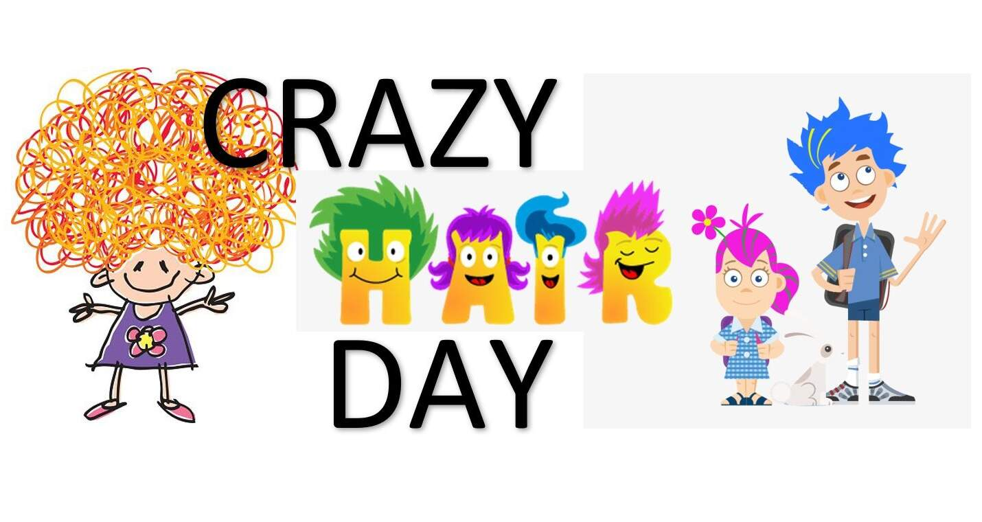 Crazy Hair Day Sandy Hill Elementary