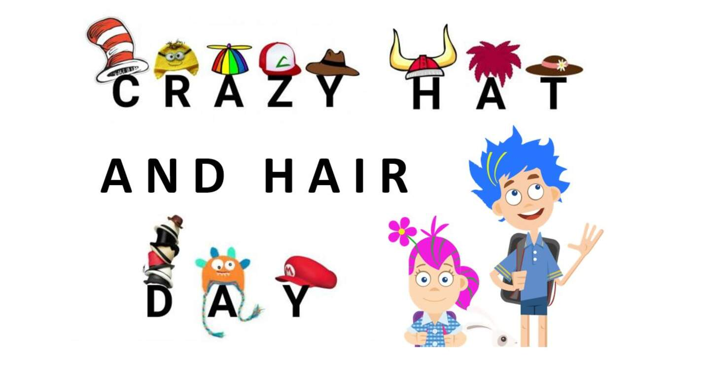 Crazy Hat And Hair Day Bookfair Kick Off Nov 5th Sandy Hill Elementary
